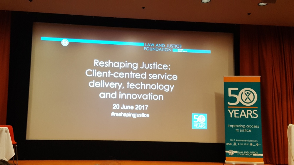 Reshaping Justice Slide